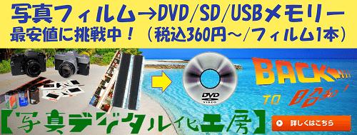 バックトゥー昭和の写真フィルムスキャン広告